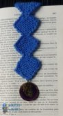 Bookmark lozenge and charm